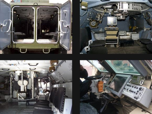 BTR-4 inside
