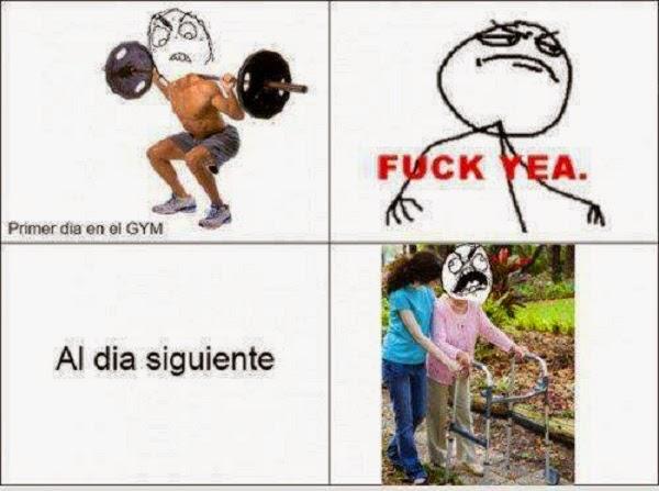 Primer día en el Gym