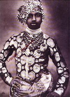 Sardar Singh, Maharaja of Jodhpur (1880-1911), in 1902.