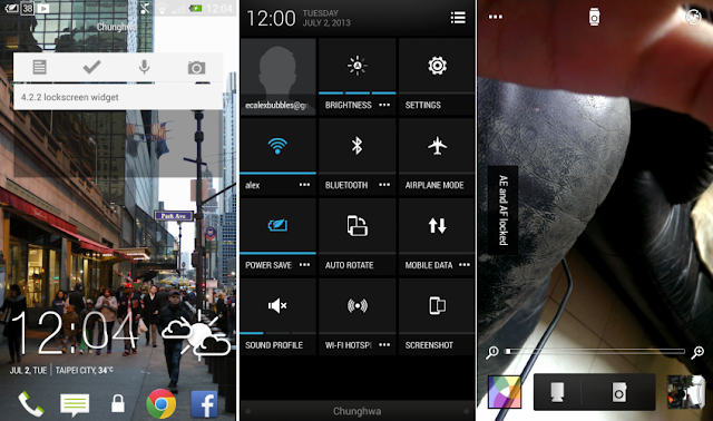HTC One Android 4.2.2 Jelly Bean