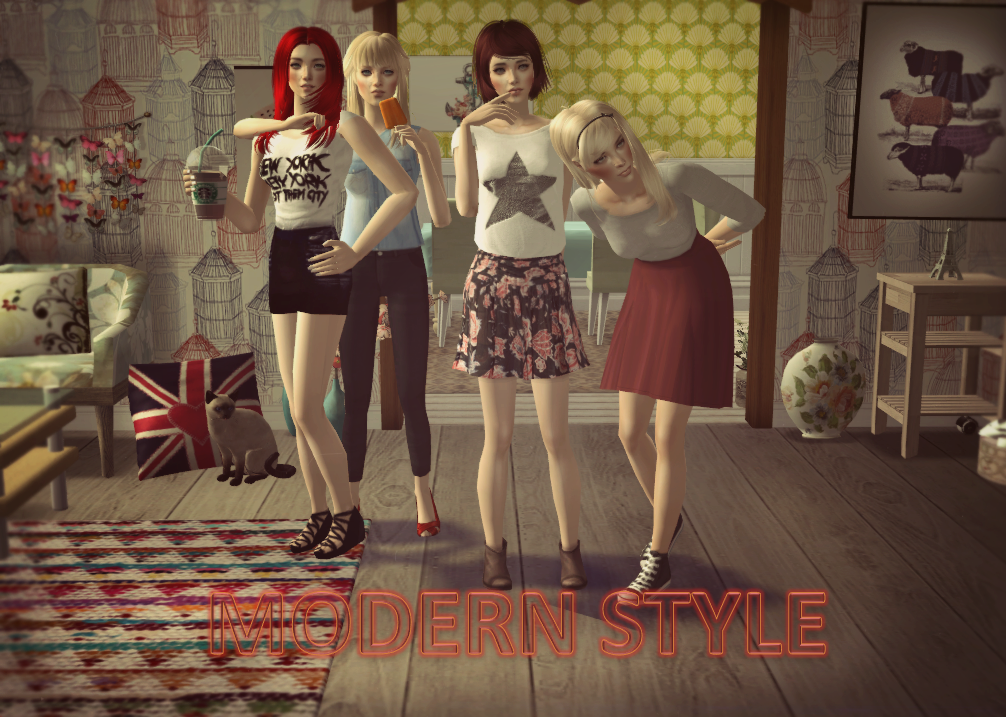 The Sims 2 Modern Style