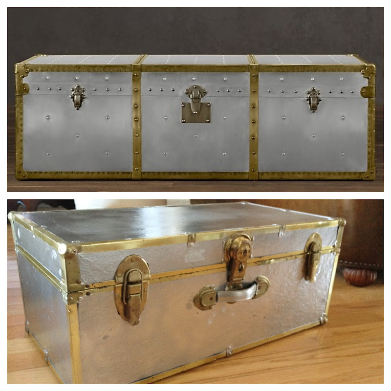 Hardware Diy: Crafty Couture: RH Trunk Copy Cat