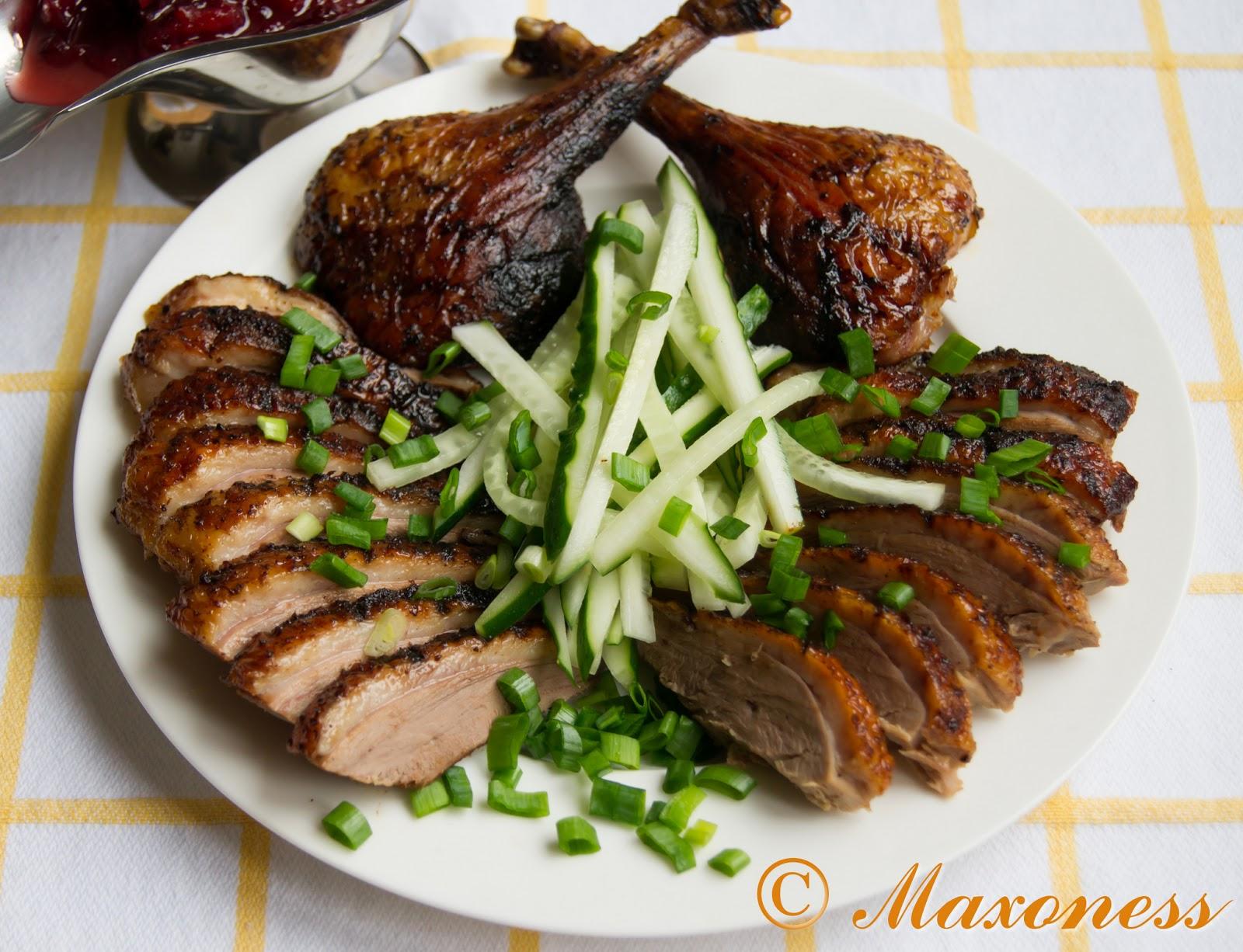 Жареная утка с пятью специями и сливовым соусом от Гордона Рамзи. Китайская кухня