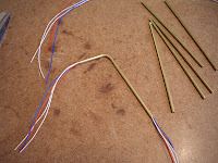 "Bending copper tubing 1"" from one end"