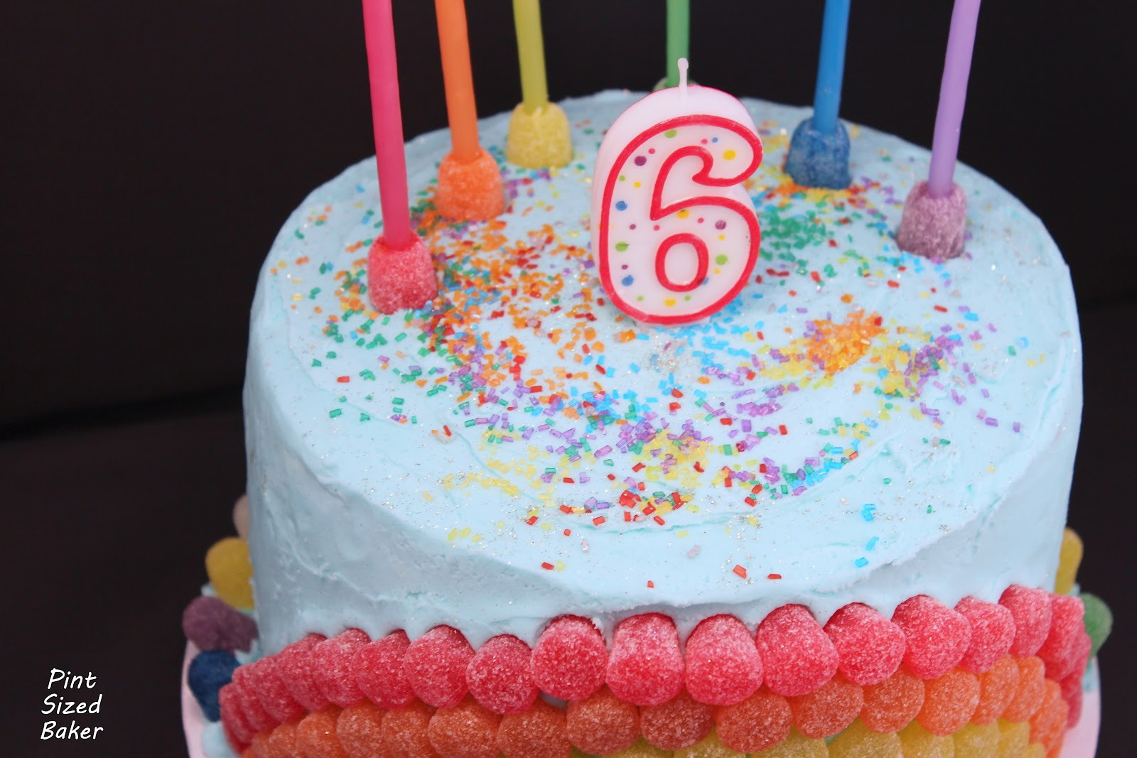 Birthday Cake Images For 6 Year Old Boy : Pint Sized Baker: Rainbow Birthday Cake