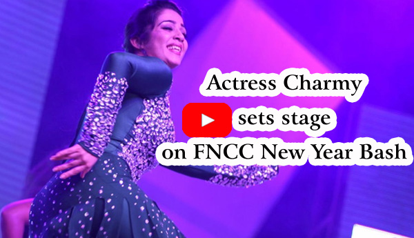 Actress Charmy sets stage on FNCC New Year Bash