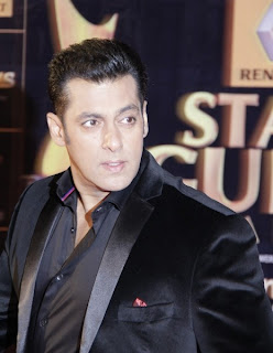 Salman Khan at Renault Star Guild Awards 2013
