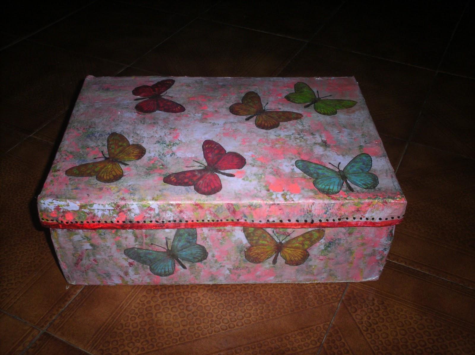 Artesanias cajas de zapatos decoradas - Cajas de zapatos decoradas ...