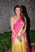 kajal agarwal photos in half saree-thumbnail-3