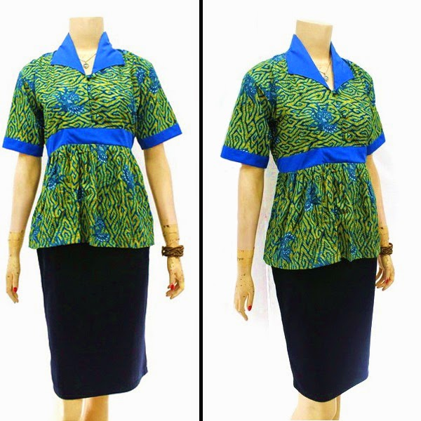 Model Baju Blouse Batik
