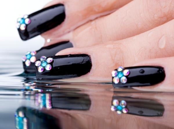 black nail designs  news