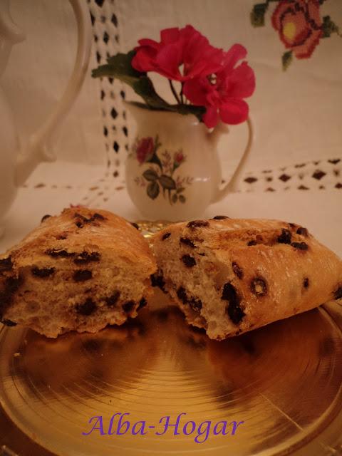 pan con chocolate alba hogar