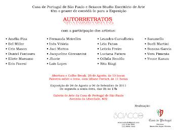 ARTISTAS  PARTICIPANTES DA EXPO AUTORRETRATOS