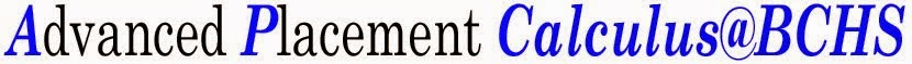 Advanced Placement Calclus@BCHS