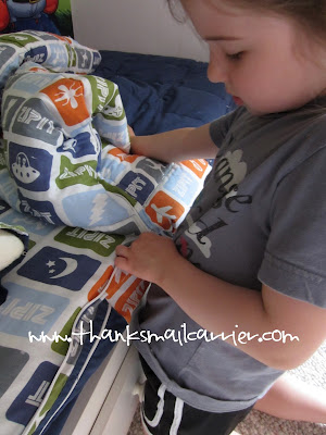 easy kids bedding