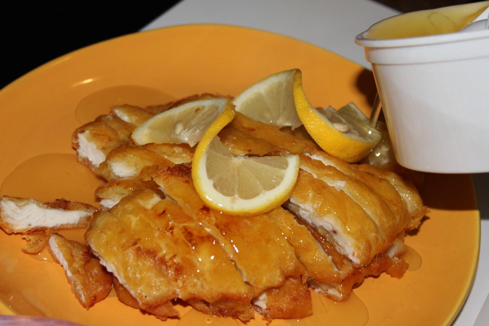 Cocinando en zapatillas pollo al limon estilo chino - Salsa de pollo al limon ...