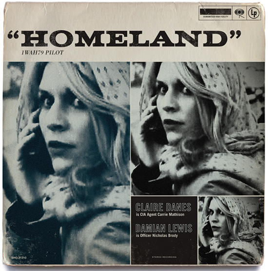 Homeland vintage jazz album by Ty Mattson