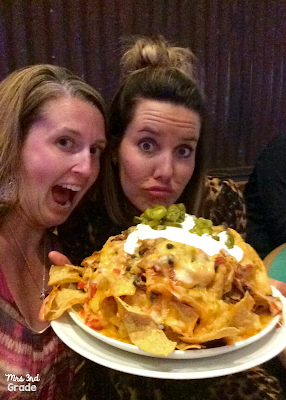 Nachos so big, we couldn't eat them all!