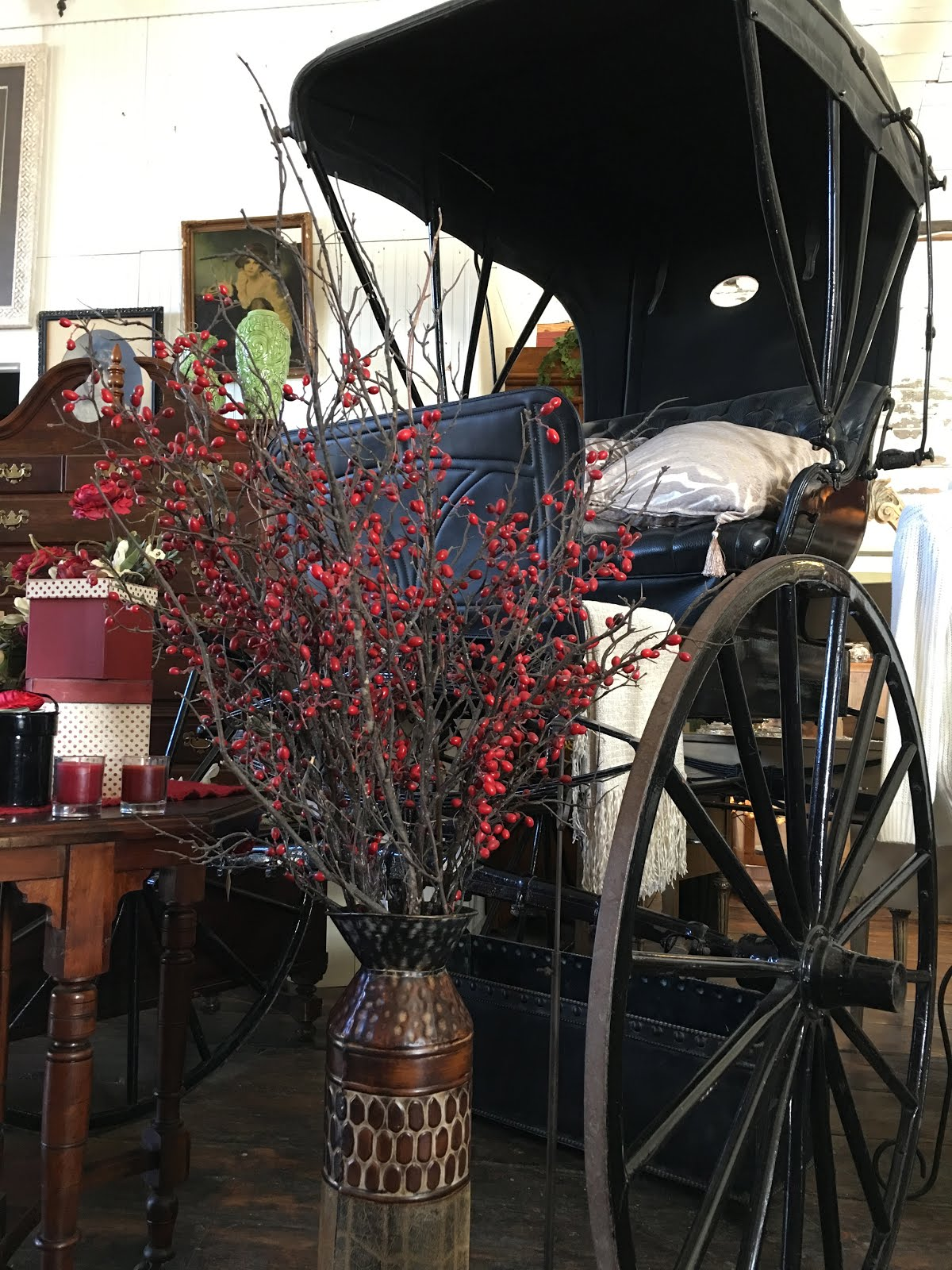What was a blacksmith shop built in 1889 is now a fabulous multi-vendor gift & antique shop