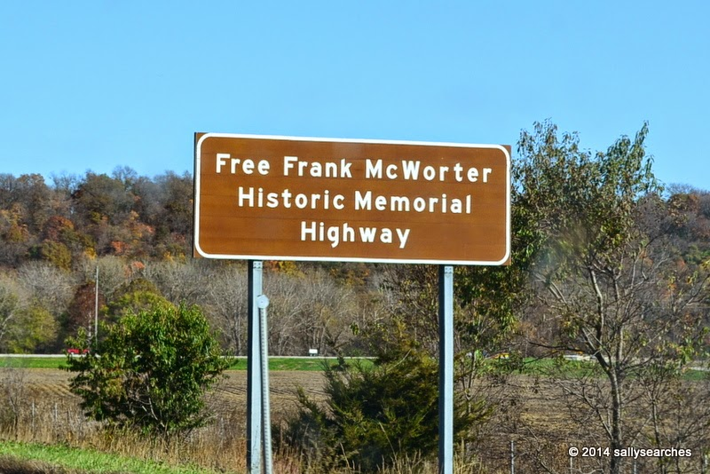 Image result for free frank mcworter memorial highway sign