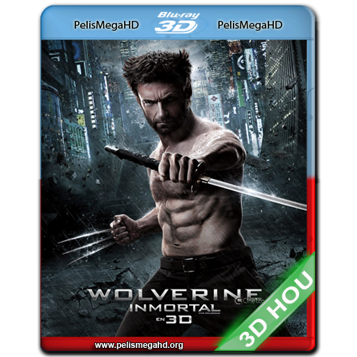 WOLVERINE: INMORTAL (2013) 3D HALF OU 1080P HD MKV ESPAÑOL LATINO
