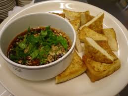 Healthy snack recipe –Fried tofu