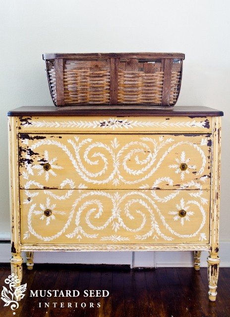Hand Painted Furniture Dressers