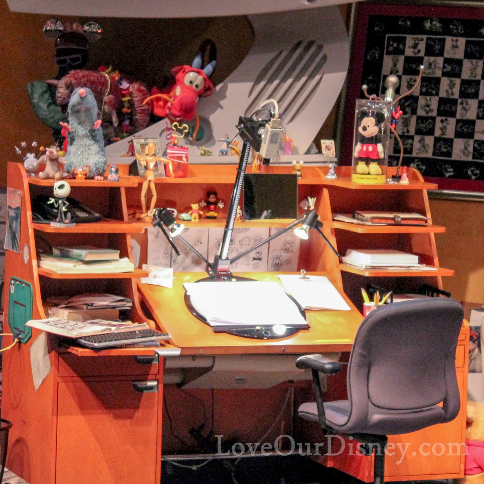 Animation Academy at DCA review from LoveOurDisney.com