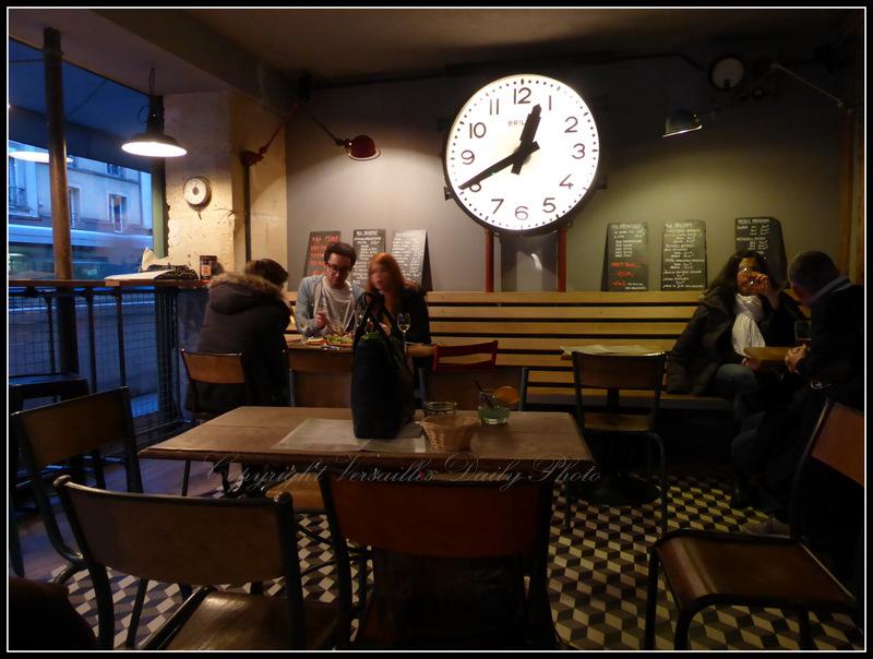 Café la pêche Versailles