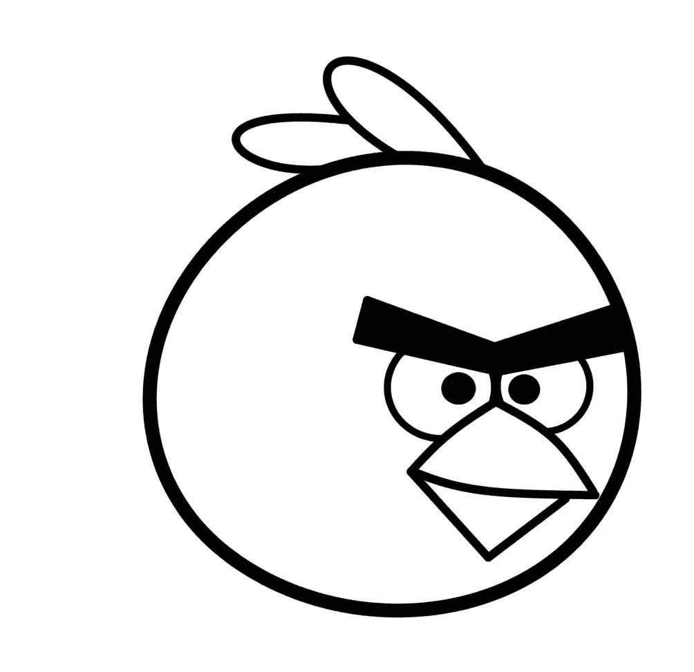 Easy Drawings: How To Draw Cartoons: Angry Bird