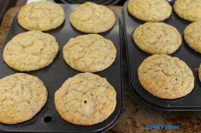 Carole's Chatter: Banana Muffins