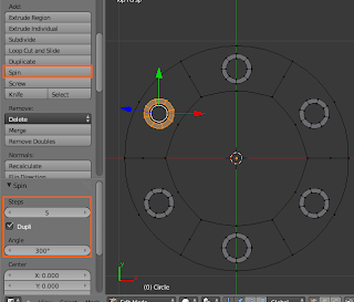 spin circle kecil