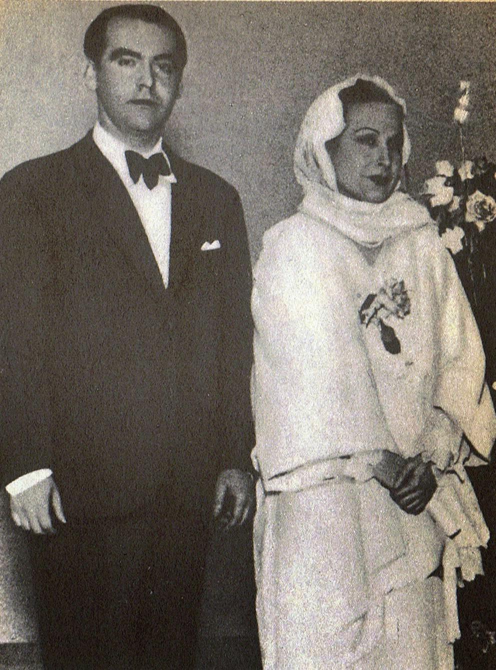 Lorca y la actriz Margarita Xirgu