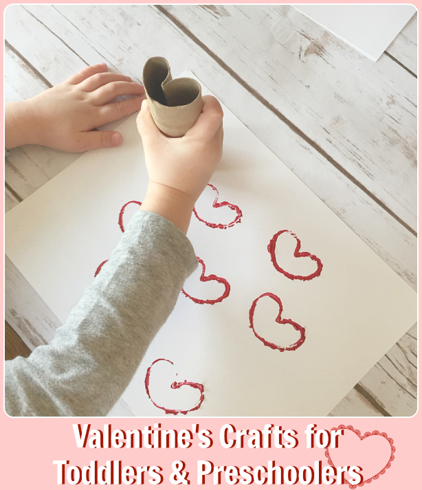 Valentine's Craft Ideas for Toddlers and Preschoolers