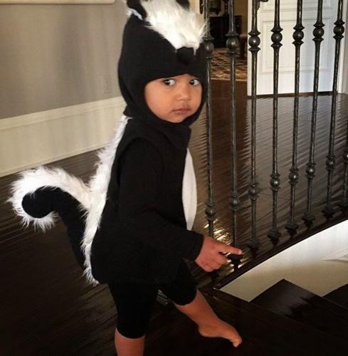 North West costume Halloween