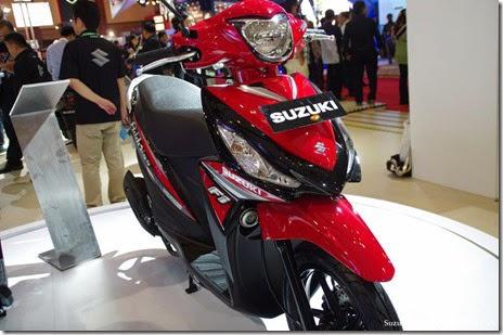 Spesifikasi Lengkap dan Harga New Suzuki Address