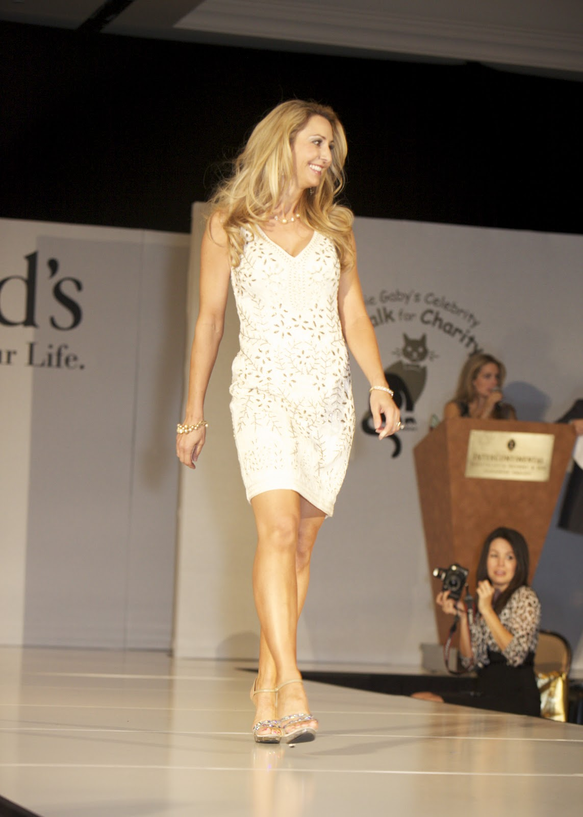 DEBBIE GABY'S CATWALK FOR CHARITY