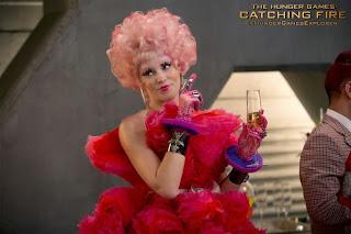 Favorite moments in Catching Fire: Elizabeth Banks as Effie Trinket