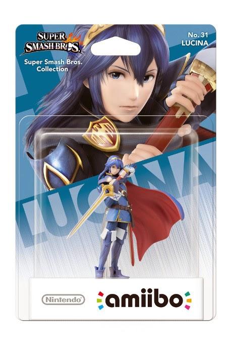 JUGUETES - NINTENDO Amiibo - 31 : Lucina (Fire Emblem)  (24 Abril 2015) | Videojuegos | Muñeco | Super Smash Bros Collection Plataforma : Wii U& Nintendo 3DS