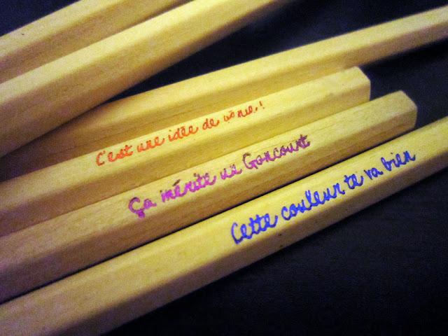 crayon de couleur my little box