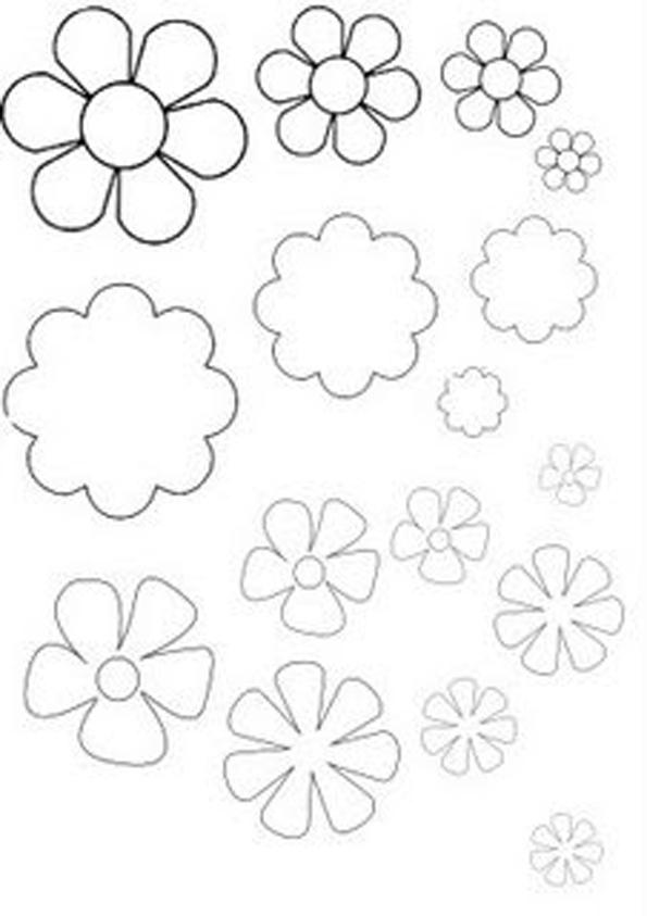 Plantillas De Flores Para Imprimir