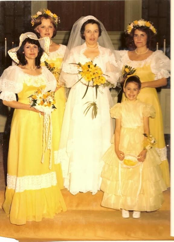 yellow dress to a edding bible verse