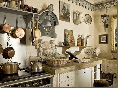 Marie's Maison: Charming French Farmhouse Kitchen