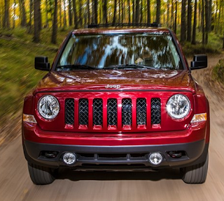 2014 Jeep Patriot red front end