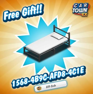 Car Town EX Free Gift Cama