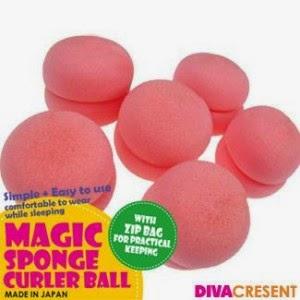 Beli Magic Sponge Hair Curler Ball Alat Untuk Membuat Rambut Bergelombang Alami