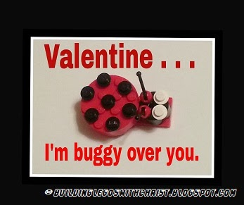 LEGO Ladybug for Valentine's Day