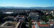 View from tower across San Berkeley and San Francisco Bay
