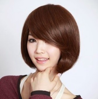 Foto Model  Rambut Tipis