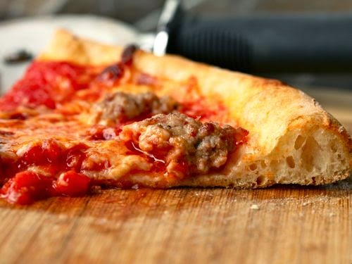 الملح ومضاره في البيتزا